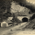 Col de Bussang entree du tunnel Chariot 1914-3