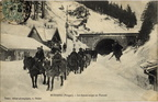 Col de Bussang entree du tunnel chasse-neige 1907-1