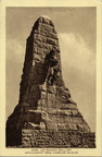 Grand-Ballon monument Diables Bleus 1930