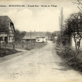 Mortzwiller Grand-rue 1914-1