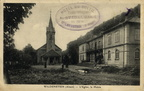 Wildenstein Eglise et mairie 1920